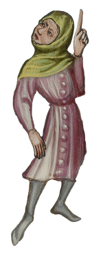 Photo of medieval figure
